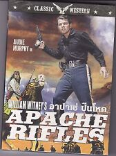 APACHE RIFLES (1964) AUDIE.MURPHY COOL UNDER FIRE WESTERN REG 3 PAL  NEW DVD