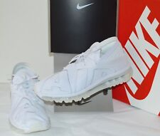 New $160 Nike Air Max Flair Triple White/Pure Platinum sz 10 More Uptempo