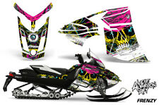 Ski-Doo Rev XR Decal Graphic Kit Sled Snowmobile Sticker Wrap 2013+ FRENZY YELLW