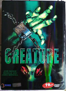 Creature (Alien Lockdown 2004) DVD R0 PAL - James Marshall, Michelle Goh, Horror