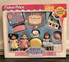 BIRTHDAY PARTY SET Fisher Price DREAM DOLLHOUSE Loving Family  # 74628
