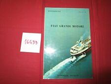 N°16433  / FIAT Grandi Motori catalogue Fasicolo n.3   1962