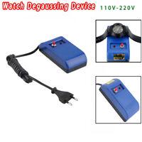 EU Plug Demagnetizer Watch Screwdriver Tweezers Electrical Demagnetise Tools