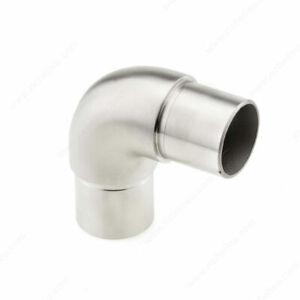 "1.5 "" 90 degree Elbow 316  Stainless HR14030503812 Richelieu handrail railing"