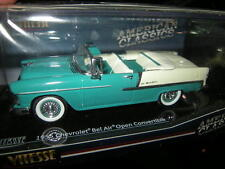 1:43 vitesse Chevrolet Bel Air convertible 1955 estante Turquoise/turquesa nº 36294 OVP