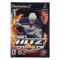 NHL Hitz 20-03 2003 (Sony PlayStation 2, 2002) Complete w/Manual CIB