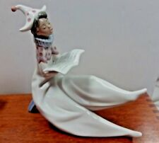 "Lladro ""The Young Jester Singer"" 6239 Mint"