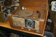GE General Electric Radio Phonograph Record player tube radio Parts/Restore