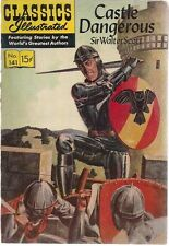 Classics Illustrated #141 Castle Dangerous Sir Walter Scott (Hrn 141) 1957 Vg+