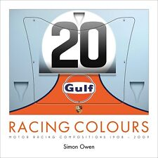 Racing Colours Motor Racing Compositions 1908-2009 Book