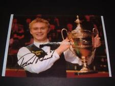 PAUL HUNTER SNOOKER LEGEND SIGNED (PRINTED) MASTERS TROPHY 2002 PHOTOGRAPH
