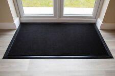 BEST Commercial Brush Entrance Mat Black Rubber Edge 90cm x 60cm UK Floor Mat
