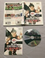 NCAA Football 09: All-Play (Nintendo Wii, 2008) CIB Complete Tested & Works!