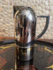 More details for oliver hemming crome nio coffee maker 2001 modernist art deco