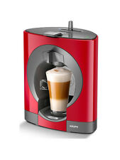 NESCAFÉ Dolce Gusto Oblo Manual Coffee Machine by Krups, Red, Genuine, NEW