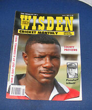 WISDEN CRICKET MONTHLY MAY 1991 - COUNTY PREVIEWS/PONSFORD TRIBUTE