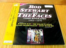 ROD STEWART and THE FACES  Video Biography 1969-1974     LASERDISC  New & Sealed