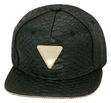 Limited Edition Hater Snapback X Hardware LDN Collaboration Strapback Hat BLACK