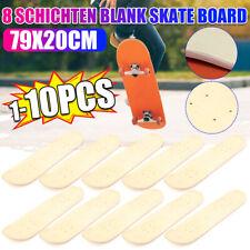 Skateboard Deck Blank Holz 7 Schichten Ahorn Double Concave Blank SkateBoard DHL