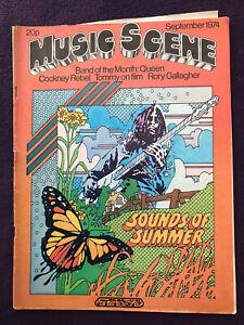 Pop/Rock Music Magazine - MUSIC SCENE Sep 1974 QUEEN TOMMY LOU REED STEELY DAN