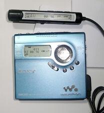 Sony NetMD Minidisc MZ-N920 MD Walkman Player Recorder USB Mini Disc N920 Tested