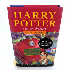 Harry Potter And The Sorcerers Stone Book Irish Agus An Orchloch Hardcover 1st