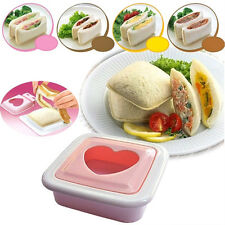 Household Love Heart Shape Sandwich Toast Bread Cake Maker Mold Cutter DIY Tools