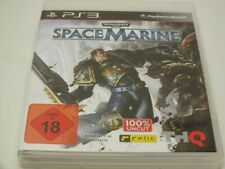 !!! PLAYSTATION PS3 SPIEL Space Marine USK18 GUT !!!