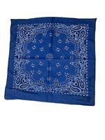 Vintage Royal Blue Bandana