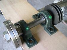 Kreissägewelle  250 mm gesamtlänge   Für  den Bau einer Tisch oder Wippkreissäge