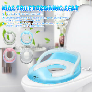 Children Potty Training Toilet Seat Kids Toddlers Toilet Trainer Ring Baby