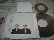 "a941981 Pet Shop Boys Japan LP Actually Plus Bonus 7"" Always on My Mind + Heart (Dub)"