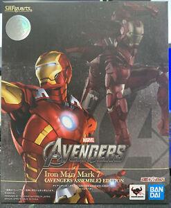 BANDAI S.H.Figuarts Iron Man Mark 7 Avengers Assemble Edition Action figure USA