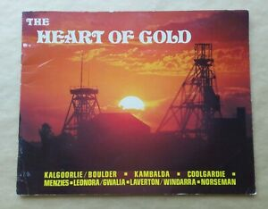 The Heart of Gold Kalgoorlie Boulder Western Australia 1970s Souvenir Guide