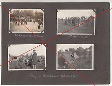 4 x Foto Reichswehr Soldaten Neuhammer Habelschwerdt Schlesien 1931 polska (D