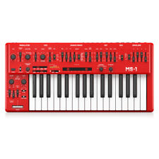 Behringer MS-1 Monophonic Analogue Desktop Synthesizer - Red