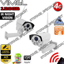 Construction Camera 4G GSM Wireless Security PTZ Farm DIY House Night Vision