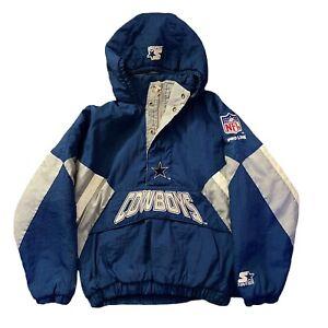 Vintage Starter Dallas Cowboys Pullover Jacket Size M