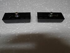 Sony TC-755 TC-756 TC-758 2 Rubber Feet & Brackets P/N 3-534-185-00 3-534-186-00