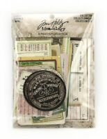 SSS Tim Holtz Idea-ology LAYERS COLLECTOR vintage Rustic Labels Die Cut