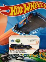 F34 Hot Wheels TV SERIES BATMOBILE Black w//RR BATMAN Classic TV Series