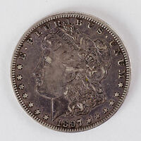 1897-O Morgan Silver Dollar AU+ Beautiful Coin -No Reserve Auction-