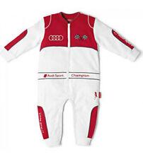 NEW GENUINE Audi 3201400101 Original Baby Racing Body Baby Grow, Size : 62/68