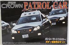 CARS : GRS 180 CROWN PATROL CAR MODEL KIT MADE BY AOSHIMA