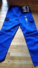 Pantalon Cargo Treillis bleu Noir ★ POWERFIX ★ Taille 42 NEUF