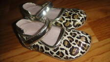 Nordstrom 26 Us 9 Leopard Cheetah Leather Shoes Girls