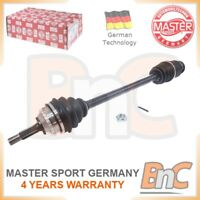 GENUINE MASTER-SPORT GERMANY HEAVY DUTY FRONT RIGHT DRIVE SHAFT FOR RENAULT