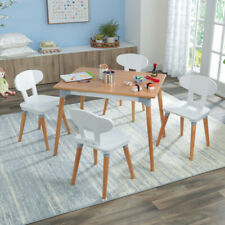 Kidkraft Mid-Century Kid™ Toddler Table & 4 Chairs  | Wooden Play Table & Chairs