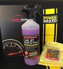 Power Maxed Car Jet Wash & Wax 1 litre+Free Micro fibre,Shampoo & Ultra Wax