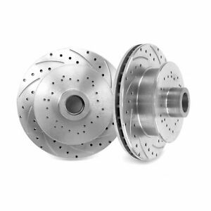 """UniLug U Drill- 1 Pair Sure Stop Drilled and Slotted 11"""" Inch Rotors U DRILL"""